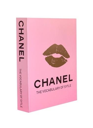 Lyn Home & Decor Pembe Dudak Chanel Dekoratif Kutu 27X19X4 Renkli